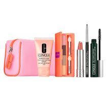 Clinique Spring Into Colour Kit - Hidratante + Paleta de Sombras + Batom + Lápis + Máscara de Cílios -