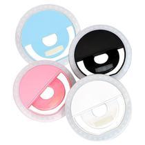 Clipe Anel Luz Pra Selfie Ring Light Flash Celular Universal Led Usb Exclusivo  Iluminadores -