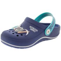 Clog Infantil Masculino Authentic Games Grendene Kids - 22062 AZUL AZUL