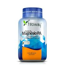 Cloreto De Magnésio P.A. Fitoway - 60 Cáps Vegetal -