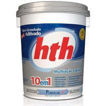 Cloro Aditivado Mineral Brilliance 10 em 1 - HTH 10Kg -
