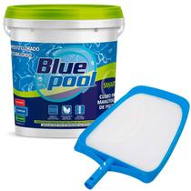 Cloro Smart para Piscina Balde 7,5 KG Bluepool + Peneira Nylon VEICO by FLUIDRA -