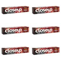 Close Up Ação Profunda Creme Dental Red Hot 90g (Kit C/06) -