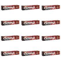 Close Up Ação Profunda Creme Dental Red Hot 90g (Kit C/12) -
