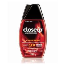Close Up Liquifresh Red Hot Gel Dental 100g -