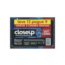 Close Up Proteção Bioativa Creme Dental 12x70g -
