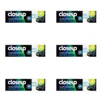 Close Up White Attraction Creme Dental Natural Smile 70g (Kit C/06) -