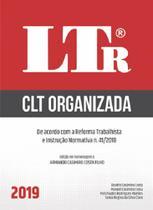 Clt Organizada - Ltr - Ltr Editora Ltda