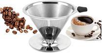 Coador de Café Aço Inox Reutilizável M - Uny Home -