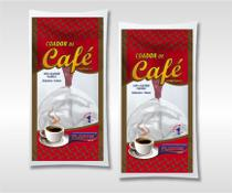 Coador de Café Pano/Cabo de Plástico - 12 unidades - Flabom Têxtil