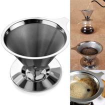 Coador Filtro de Café Inox Permanente Não Usa Filtro de Papel Onyx 4181 - Bialetti