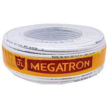 Coaxial Rg 59 47 Branco Rolo 100m Megatron -