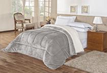 Coberdom everest cobertor casal king size soft e lã de carneiro super fofinho - JM ENXOVAIS