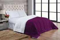 Coberdrom sherpa com manta soft casal queen - Aretusa Confecções