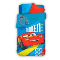 Coberdrom Solteiro Fleece Dupla Face Carros Lepper -