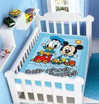 Cobertor Bebê Disney Mickey Licenciado Vários Modelos - Jolitex
