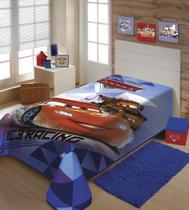 Cobertor Carros Disney Super Macio e Grosso - Raschel Jolitex -