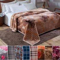Cobertor Casal 180 x 220cm  Pelo Alto Dyuri Jolitex - Emcompre -
