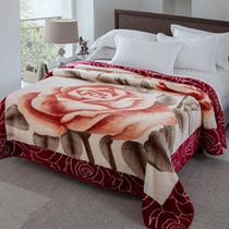 Cobertor Casal 1,80m x 2,20m estampado Kyor Plus Jolitex -
