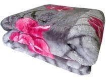 Cobertor Casal Jolitex Microfibra 100% Poliéster - Dyuri Mississipi Cinza