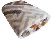 Cobertor Casal Jolitex Microfibra 100% Poliéster - Kyor Plus Zurique Bege