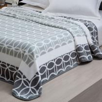 Cobertor Casal Raschel Marvin - Cinza 180x220m - Corttex c3ebff237dc73