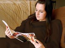 Cobertor com Mangas Solteiro Hug - Mehndi