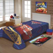 cobertor infantil menino jolitex Disney carros mcqueen -