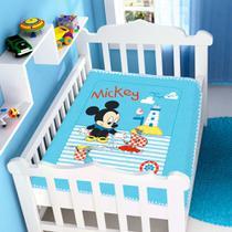 Cobertor Infantil Para Bebê Mickey Disney Jolitex -