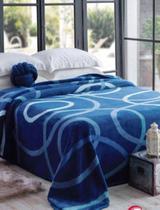 Cobertor Jolitex Casal Kyor Plus 1,80x2,20m Avalon Azul -