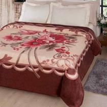 Cobertor Jolitex Casal Kyor Plus 1,80x2,20m Fiore -