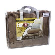 Cobertor King Size Europa Toque de Luxo 240 x 250cm - Marrom -