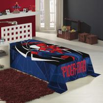 cobertor manta fleece spider man homem aranha lepper -