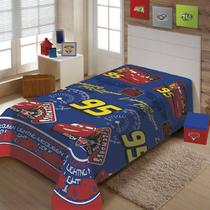 Cobertor Manta Infantil Carros Jolitex 1,5x2,0m -