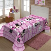 Cobertor Manta Infantil Minnie Gracinha Jolitex 1,5x2,0m -