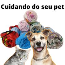 Cobertor Manta Pet Para Cachorro Gato Poliéster Macio - Enxovais