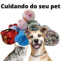 Cobertor Manta Pet Para Cachorro Gato Poliéster Super Macio - Enxovais