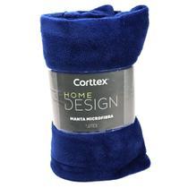 Cobertor Microfibra Casal King Size Home Desing Corttex Antialérgico 2,20 x 2,40 Manta Coberta - CORTTEX CASA