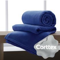 Cobertor Microfibra King Manta Coberta Corttex Home Design Antialérgico 2,20x2,40 Acqua / Verde - CORTTEX CASA