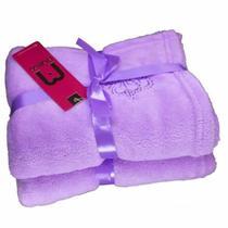 Cobertor para Cachorro e Gato de Microfibra Malloo Lilás -