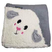 Cobertor para Cachorro e Gato Freddy Malloo Cinza -