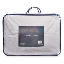 Cobertor Soft Casal 340gr Naturalle Fashion Cinza -