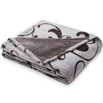 Cobertor Solteiro Microfibra Aconchego Alto Relevo - Loani -