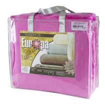 Cobertor Super King Size Europa Toque de Luxo 240 x 280cm - Pink -