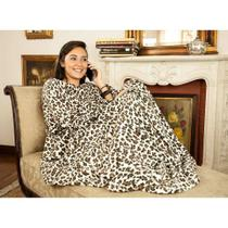 Cobertor Tv Mangas Prime Adulto 1,30x1,60m - Loani Presentes
