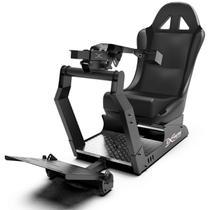 Cockpit Suporte p/ Volantes Simuladores de Corrida VE2 Banco Preto. Compatível com Logitech Thrustmaster Fanatec - Extreme simracing