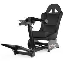 Cockpit Suporte para Volantes Simuladores de Corrida X Retrátil Banco Preto, compatível com Logitech, Fanatec e Thrustmaster - Extreme simracing