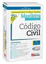 Código Civil - Maxiletra - Constituição Federal + Código + Legislação - 25ª Edição (2019) - Rideel