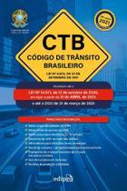 Codigo de transito brasileiro - 14ed/21 - EDIPRO
