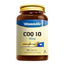 COENZIMA Q10 50MG (60 CÁPSULAS) - Vitaminlife -